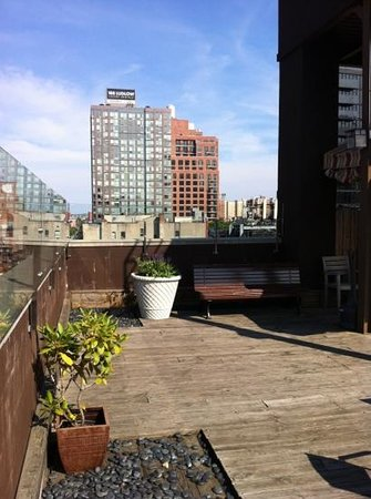Hotel East Houston: rooftop
