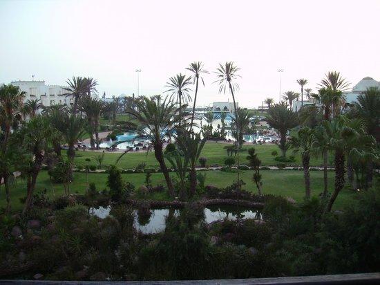 Palais des Roses: vue de la terrasse