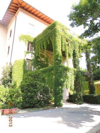 Hotel Villa Gabriele D'Annunzio: Vista da lateral