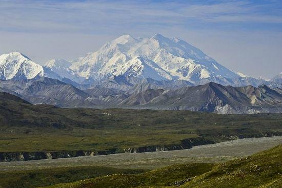 Denali Bluffs Hotel: Mount Mc Kinley at Denali Park