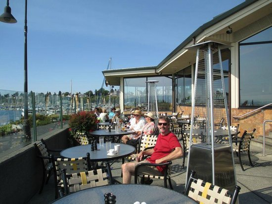 Anthony's Hearthfire Grill ~ Squalicum Harbor: Great deck