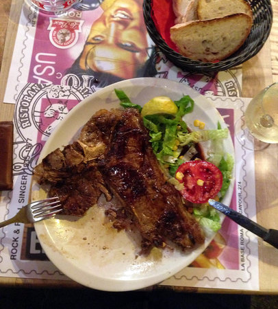 La Base : Fiorentina: delicious grilled steak, a must