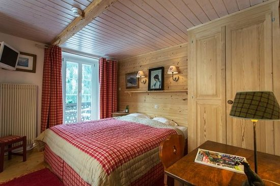 Hotel du Pillon: Chambre double