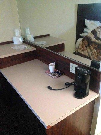 Exchange Club Motel: Coffee maker