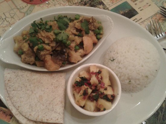 Nomad Cafe : Cabodian yellow curry