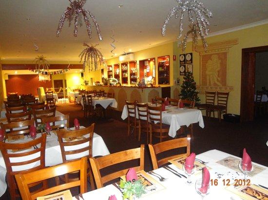 Kohli's Indian Restaurant : Christmas Decor....