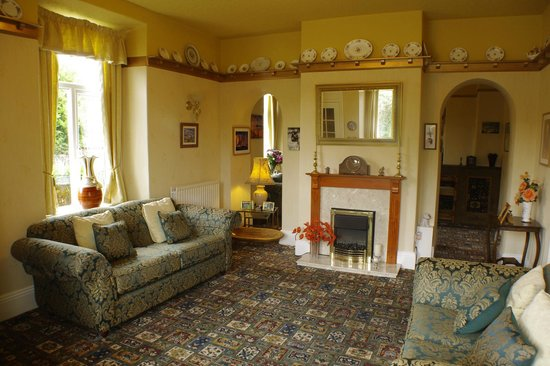 Bron Rhiw Guest House: lounge