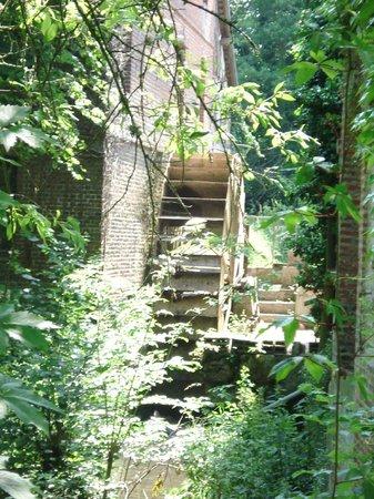 Manoir de la Huchette : Ancien moulin dans le parc