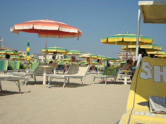 Viserbella, Italie : Beach