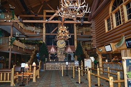 Great Wolf Lodge Kansas City: Entrance of Lodge...beautiful