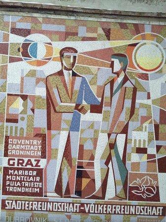 Grazer Schloßberg: Mural