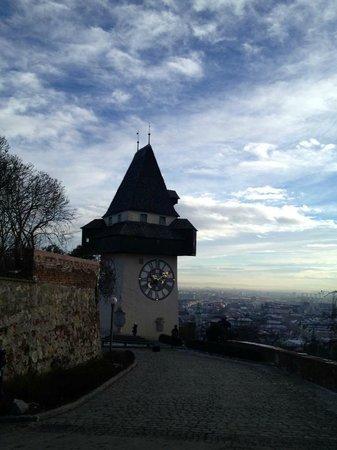 Grazer Schloßberg: Uhrturm