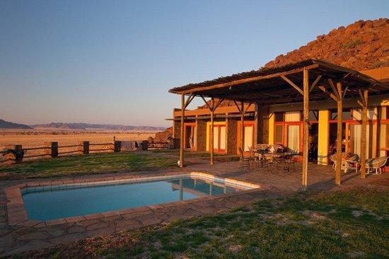 Greenfire Desert Lodge: Traumhafte Lodge - gut in die Natur eingepasst