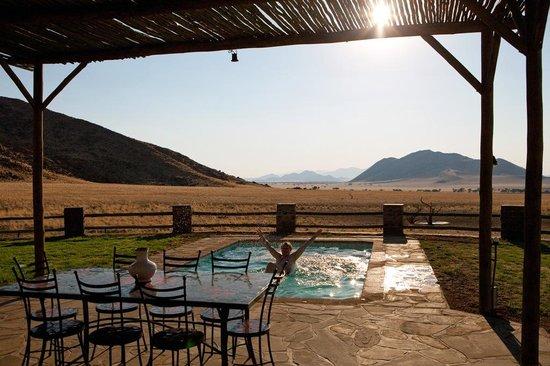 Greenfire Desert Lodge: Herrliche Erfrischung nach langer Fahrt