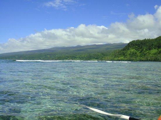 Lavena Coastal Walk: Kayaking down the coast