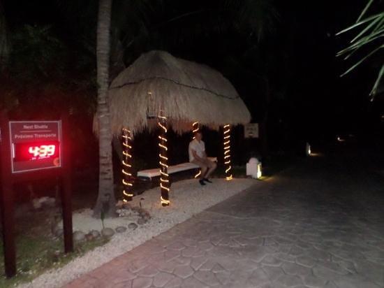 El Dorado Royale, by Karisma: bus stops around resort to get you around the resort