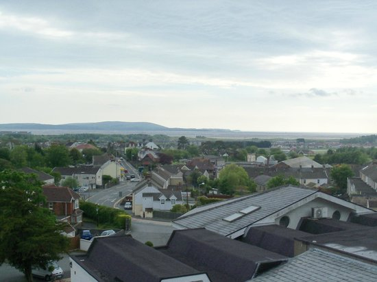 Stradey Park Hotel & Spa: View from the roof terrace