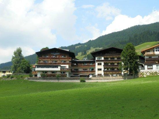 Kohlmais: Hotel view
