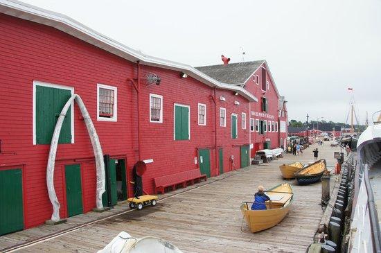 Fisheries Museum of the Atlantic: Außenansicht vom Wasser