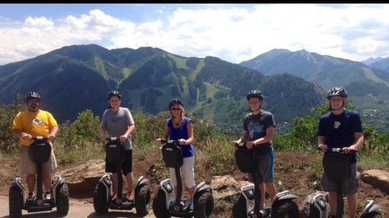 Segway Aspen: Fun on Red Mountain