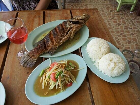 Madame Green (Jay Khiew): Fish for lunch