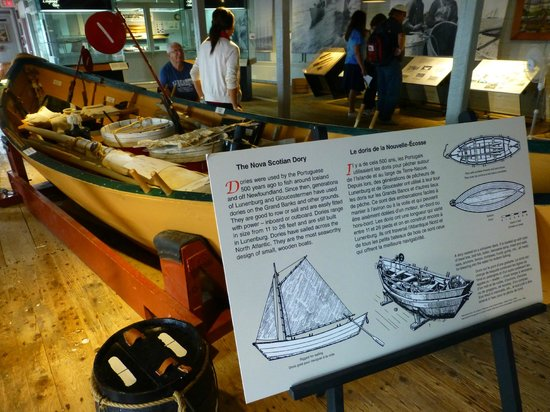 Fisheries Museum of the Atlantic: Im Museum