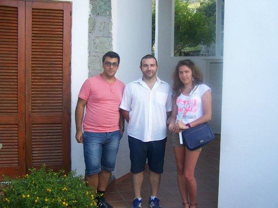 Villa La Cesa : Ospiti e il gestore