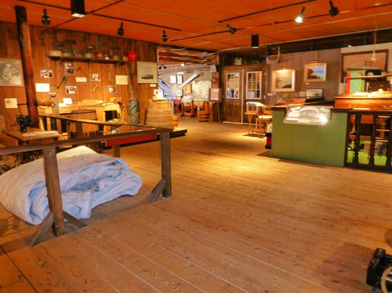 Fisheries Museum of the Atlantic: Im Museum