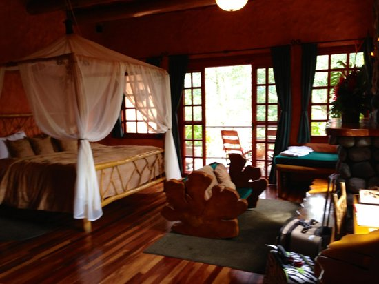 Peace Lodge: Our room