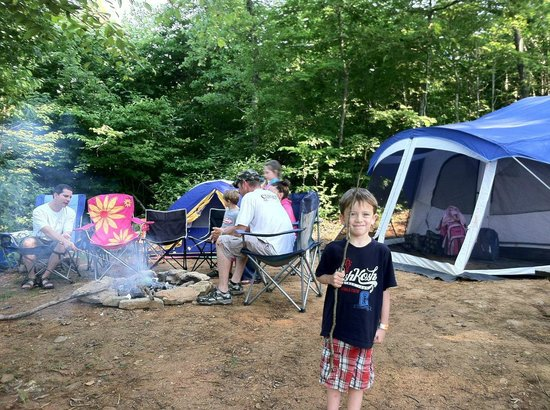 Hidden Creek Camping Resort : Our Camp Site