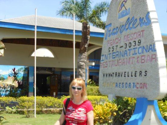 Travellers Beach Resort: Entrance