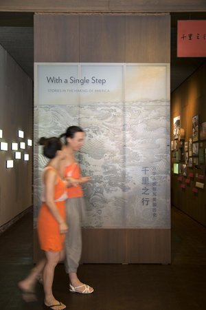 Museum of Chinese in  America: With a Single Step: Stories in the Making of America