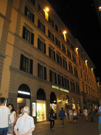 FH Calzaiuoli Hotel: The Hotel Front