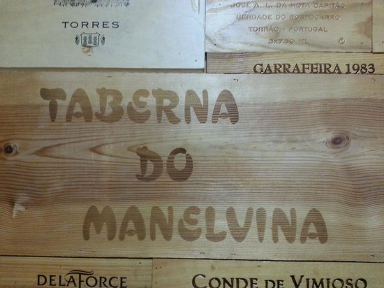 Caldas da Rainha, Portugalia: taberna do manelvina wall