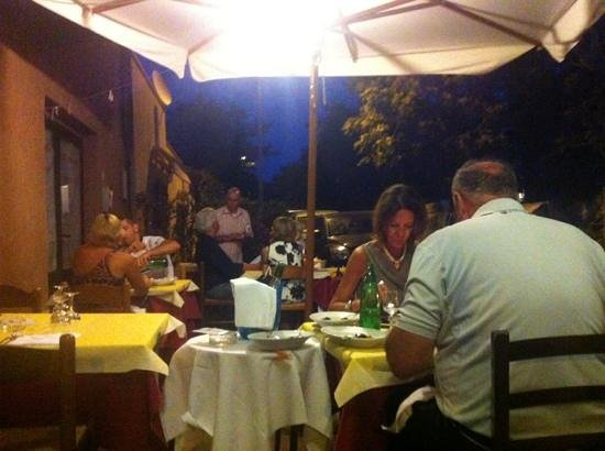 Orbetello, Italy: il Cavaliere, giardino all'aperto