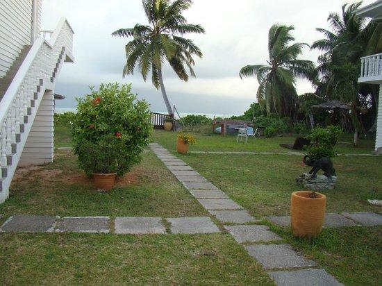 Le Tropique Villa : Garten