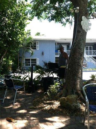 Lido Islander: patio area