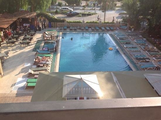 Panormos Hotel: view from our room