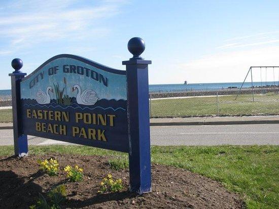 Eastern Point Beach: Follow The Sign.