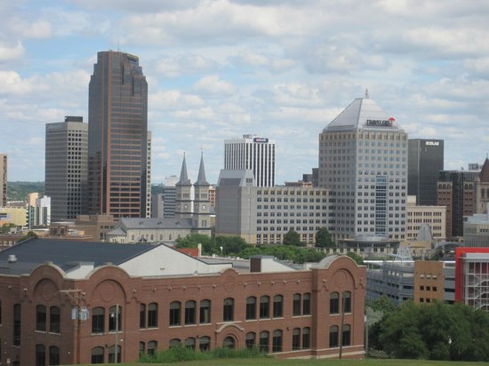 Cathedral of St. Paul: Downtown Saint Paul from steps
