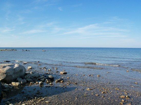 Pristine waters of Lake Huron
