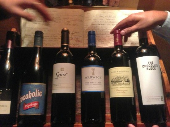 Cafe Fish : Wines