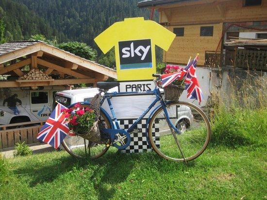 True Alpine : Supporting the Tour de France