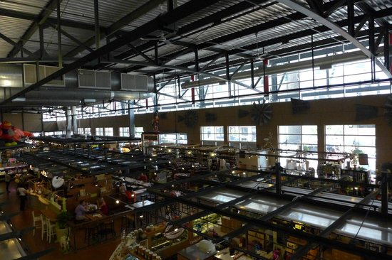 Milwaukee Public Market: From the gallery sitting area