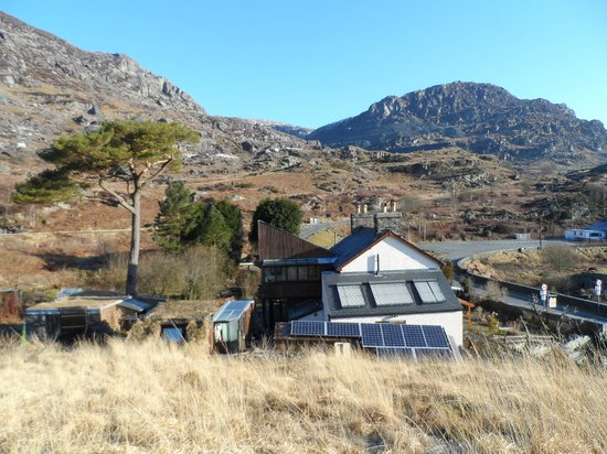 "Bryn Elltyd eco Guest House: From the top of their ""little hill"""