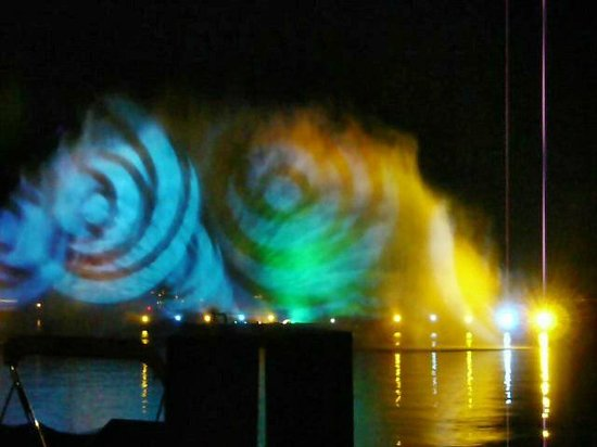 Wörthersee: Klangwellen Velden = Laser und Wasser