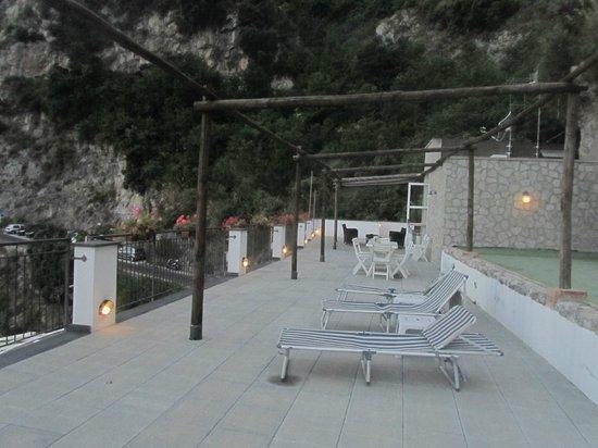 Hotel Doria: Terrazza dell'Hotel