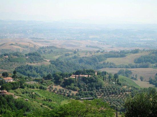 UNA Palazzo Mannaioni: View from Montaione, Tuscany