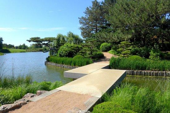 Ying Yang Bridge - Picture of Chicago Botanic Garden, Glencoe ...