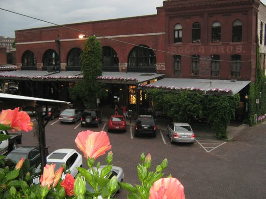 Upstream Brewing Company - Old Market Restaurant: View from roof top terrace